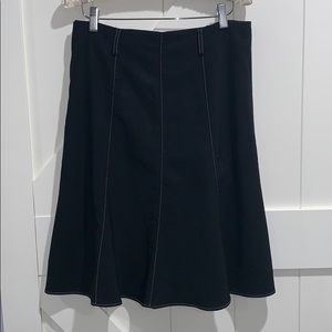 Spring Street Black Skirt. Size 5. Side Zi…